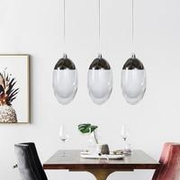 pendant lamps modern Acryl Minimalist Dinosaur eggs Led pendant lights bar cord pendant light Starry Diamond restaurants