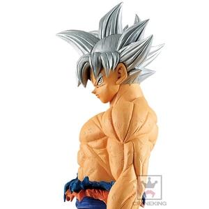 Image 3 - Tronzo 28cm oryginalny Banpresto Dragon Ball Super Grandista ROS GROS Goku Ultra instynkt PVC model postaci zabawki DBZ prezenty