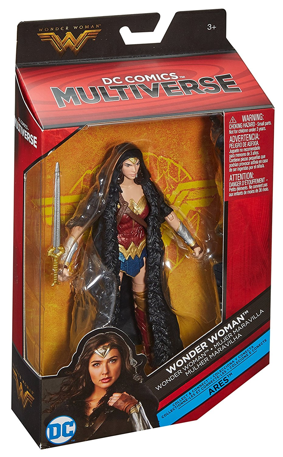 Original Garage Kit 6'' Figurine DC Comics Multiverse Wonder Woman Caped Toy Collectible Action Figure Doll Model Toy Gifts dc super hero girls wonder woman 9 training pvc action figure doll collectible model toy christmas gifts a162