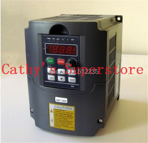 Variable Frequency Drive VFD Inverter 1.5KW 2HP 220V 7A 1.5kw inverter new variable frequency drive vfd inverter 1 5kw 2hp 220v 7a 1 5kw inverter with potentiometer knob 220v ac