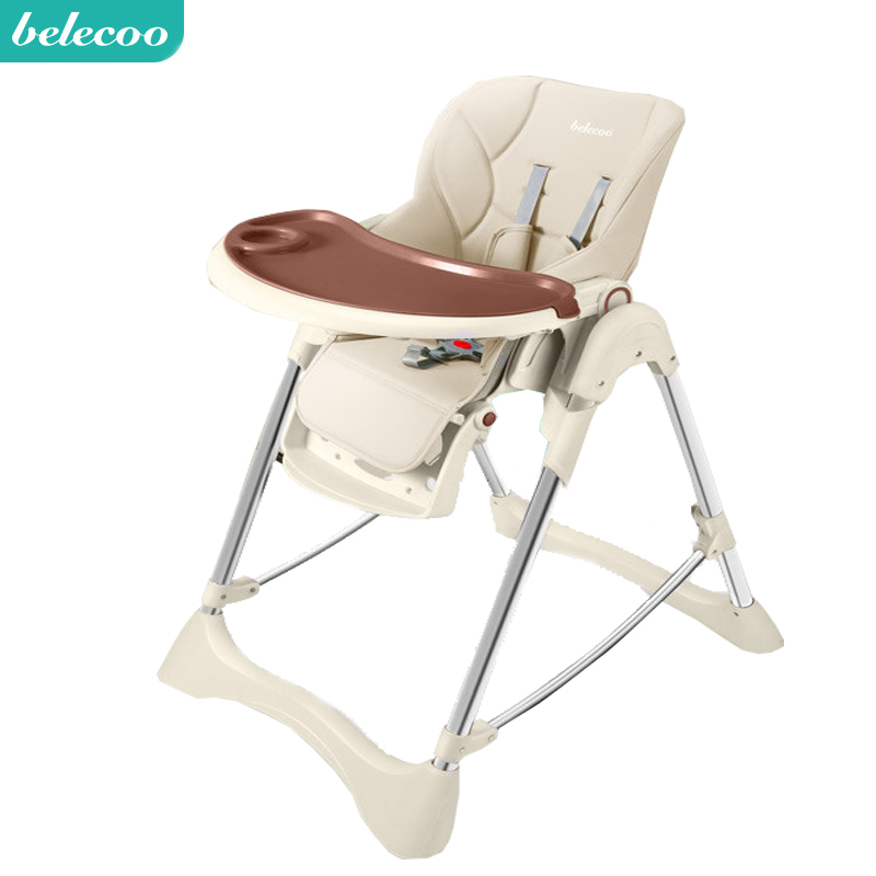 Belecoo Baby Dining Chair Children Dining Chair Multi-function Folding Baby Chair Portable Eating Table Seat Free Shipping