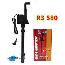 High quality Submersible pump for aquarium fish tank water pump 3 in 1 oxygen pump filter pump 900L/H R3 580
