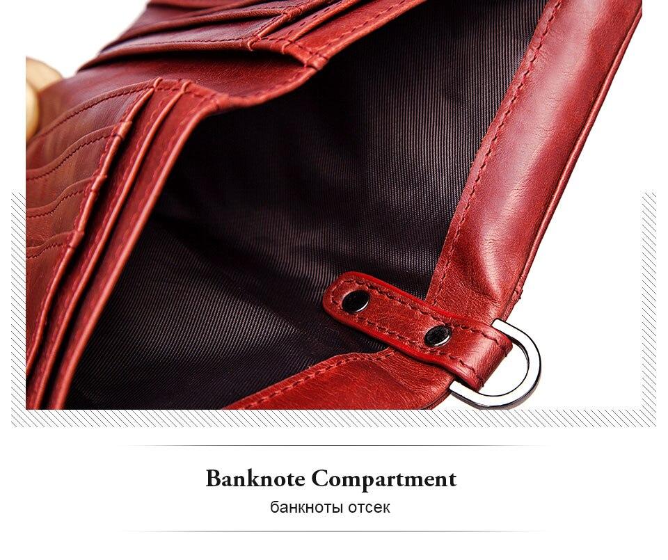 красный женщин бумажник ; Основной Материал: Натуральная Кожа; бумажник женщина; бумажник монетки ;