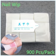 1 Pack Professional Lint Free Nail Wipes Soft Cotton Nail Wipe Polish Remover