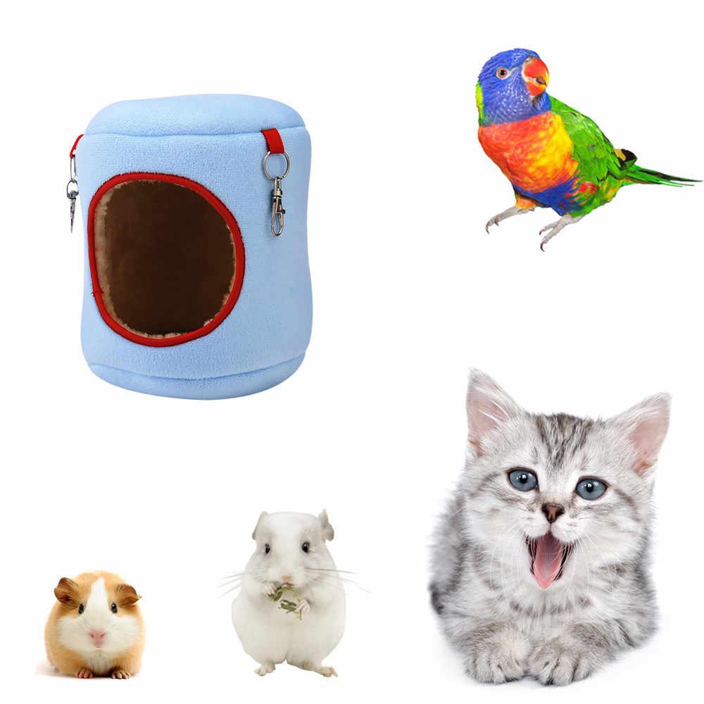 S/M/L/XL Haustier Hängen Haus Hängematte Kleine Tiere Baumwolle Warme Hamster Käfig Schlaf Nest Pet bett Käfig für Papagei Ratte Hamster Spielzeug