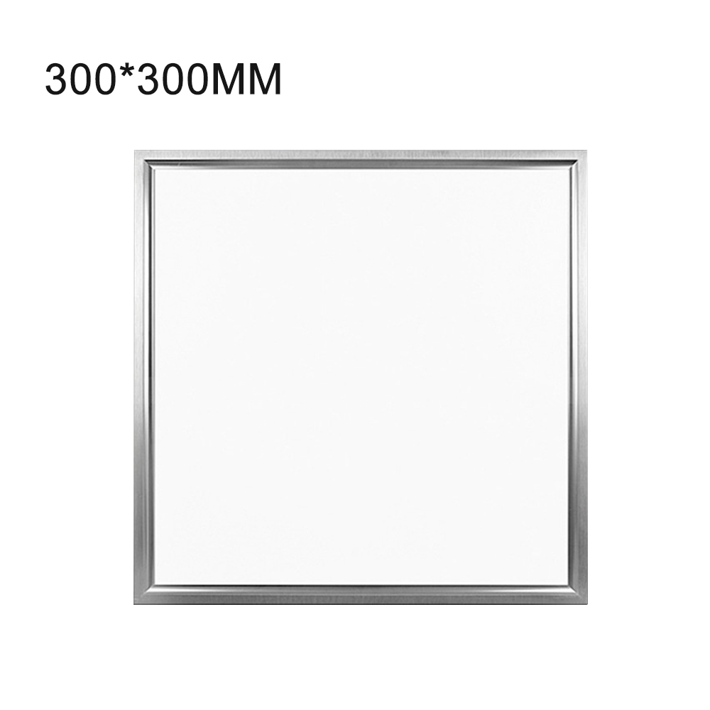 6pcs/lot LED Panel 300x300cm 18W LED Panel Light High Bright led Indoor Ceiling Lamp White/Warm White with LED Driver AC85V-265V zy 18w 1900lm 6500k 36 led white light round ceiling lamp source module white 85 265v 2 pcs