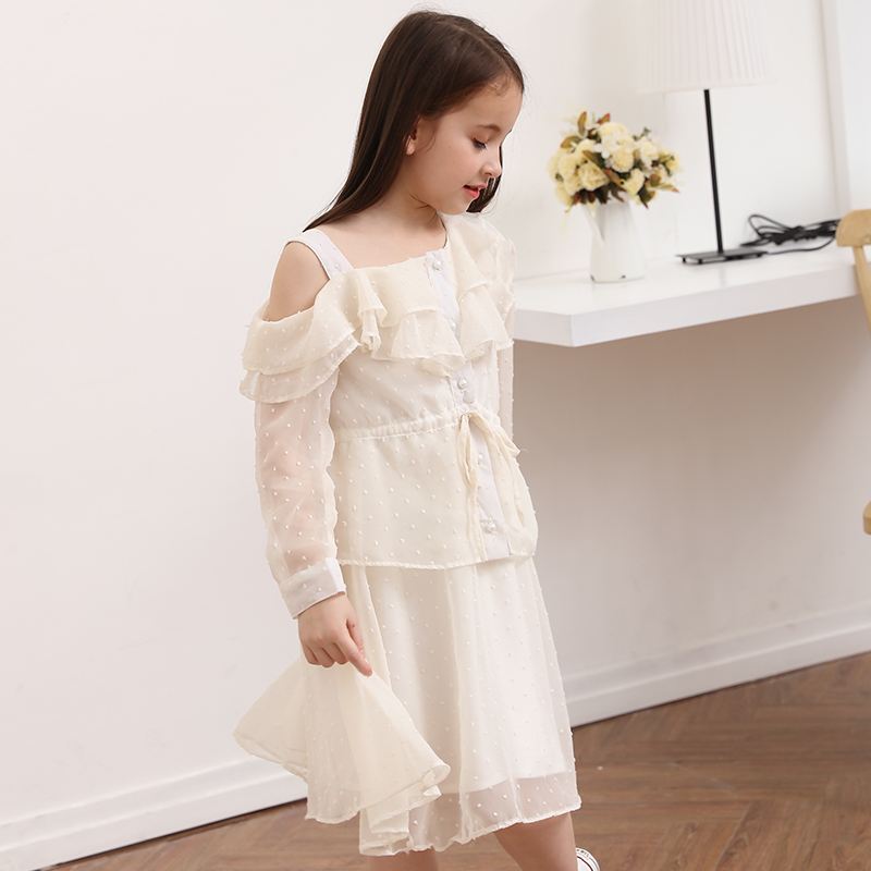 1e36a31f785 2018 Summer Elegant Kid Girls Cute Baby Girl Frock Design Dresses for age 5  6 7 8 9 10 11 12 13 14T Years Old Kids Teenage Teens-in Dresses from Mother  ...