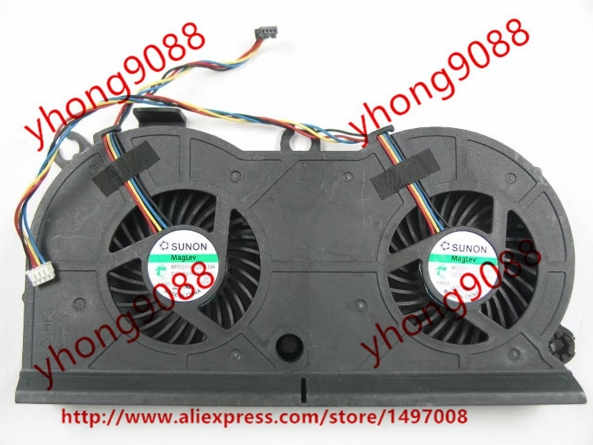 Free Shipping For SUNON MF80201V1-C010-S9A DC 12V 3.96W 4-wire 4-pin connector Server Laptop Fan free shipping for sunon eg50040v1 c06c s9a dc 5v 2 00w 8 wire 8 pin server laptop fan