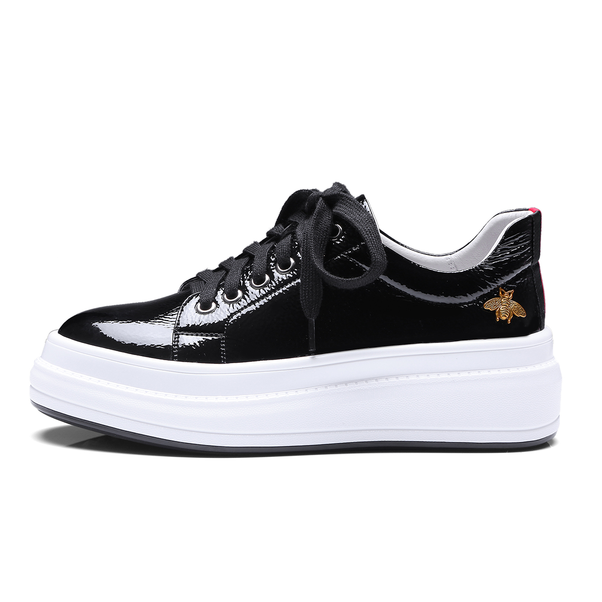 INDACO 2019 femmes baskets cuir blanc chaussures femme chaussures mode 34-40 - 5