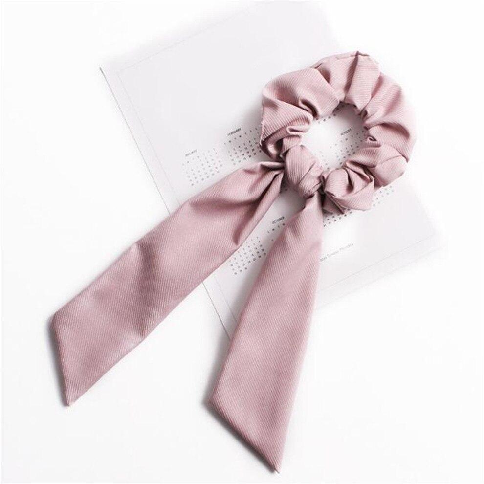 Богемные резинки для волос в горошек с цветочным принтом и бантом, женские эластичные резинки для волос, повязка-шарф, резинки для волос, аксессуары для волос для девочек - Цвет: A3