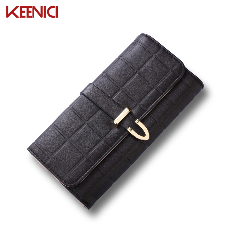 KEENICI Female Wallets Leather Wallet Women Long Style Purse Brand Capacity Clutch Card Holder Pouch Coin Pocket Multi-function hot fashion female clutch wallets high quality purse women long style wallet famous brand capacity clutch card holder pouch blue