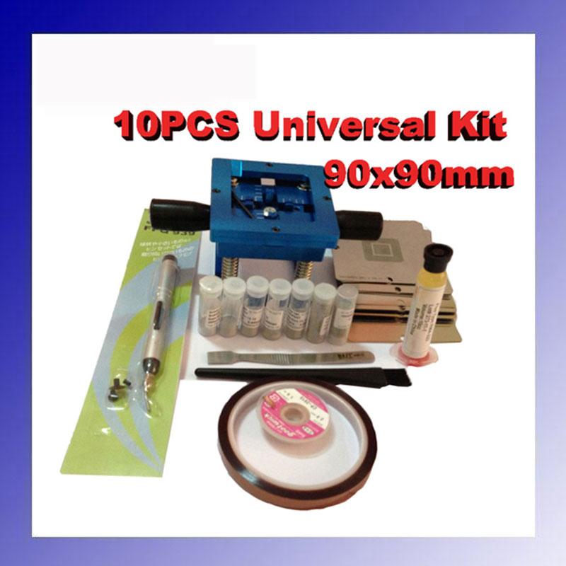 for Laptop ATI Chip 41 pcs /set Bga Reballing Stencil Tample Kit for laptop 139 pcs set bga reballing stencil template kit