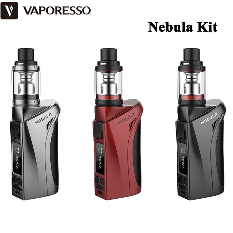 bilder für E-zigaretten Vaporesso Nebula Kit 2 ML Veco Tank/4 ML Veco Plus Zerstäuber Box Mod 80 Watt/100 Watt Verdampfer Wth Abdichtung Dampf