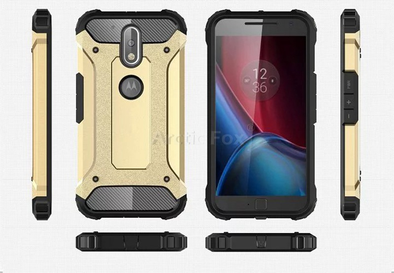 new arrival d0ee1 4f46d US $3.74 |Hybrid Dual Heavy Duty Armor Case Cover for Motorola Moto G4 / G4  Plus Back Cover Silicone+Plastic Phone Cases for Moto G4 Case on ...
