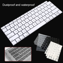 Силиконовый протектор клавиатуры для Macbook Air 13 A1932 США раскладка клавиатуры крышка Водонепроницаемая клавиатура пленка
