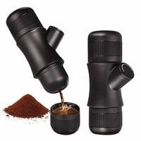 Mini Manual Portable Coffee Maker Percolator Espresso Manually Handheld Pressure Coffee Making Machine Pressing