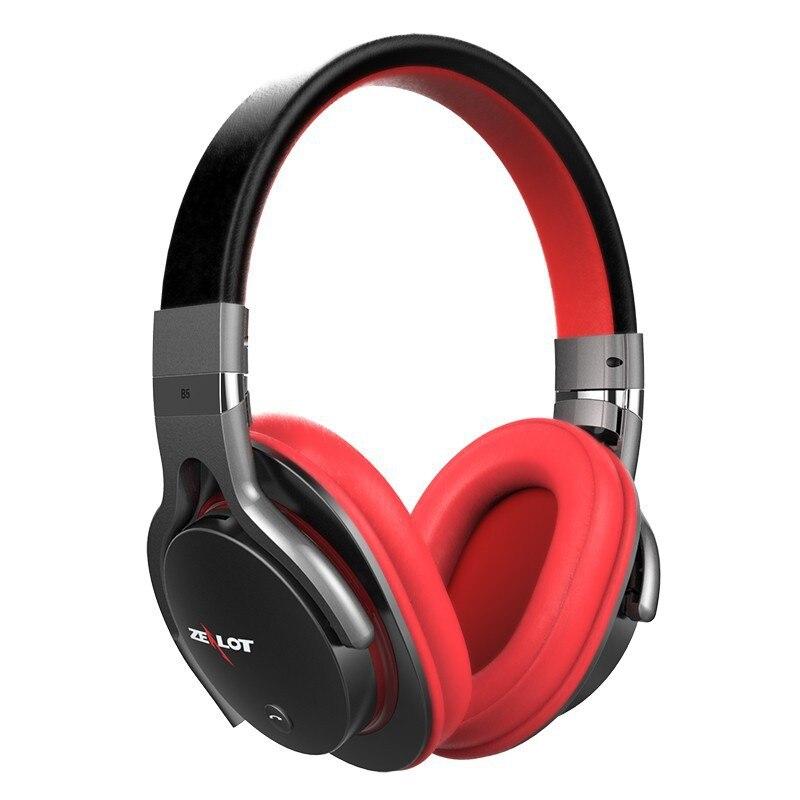 bilder für Zealot b5 große ohrenschützer tiefe bässe bluetooth kopfhörer stereo umgeben über ohr headset stirnband kopfhörer mit 40mm lautsprecher