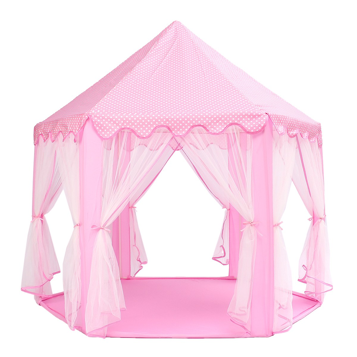 Portable Princesse Château Jouer Tente Activité Fée Maison Fun Playhouse Tente De Plage Bébé jouer Jouet Cadeau Pour Les Enfants - 2