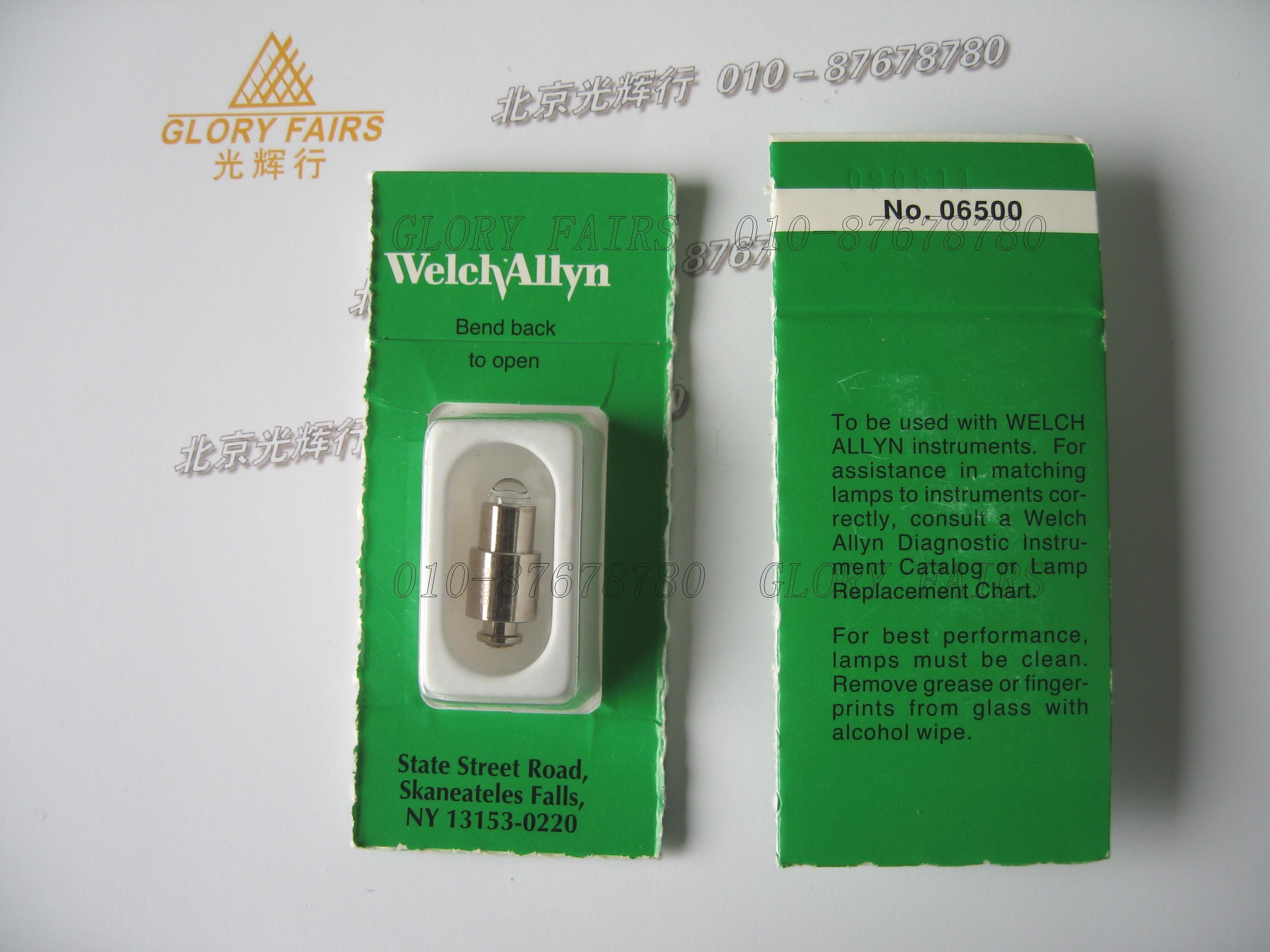 Welch Allyn 06500 U Bulb Macroview Otoscope 3 5v 0 78a
