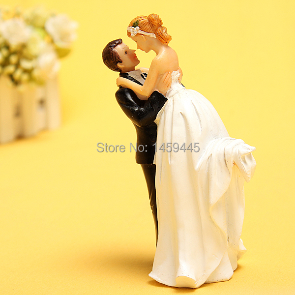 True Romance Custom Couple Figurine Black and White \