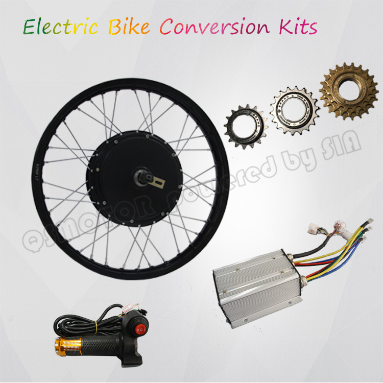 Pd750 Electric Motor Kit: QS Motor 205 Electric Bicycle Kit / E Bike Kit / Spoke Hub