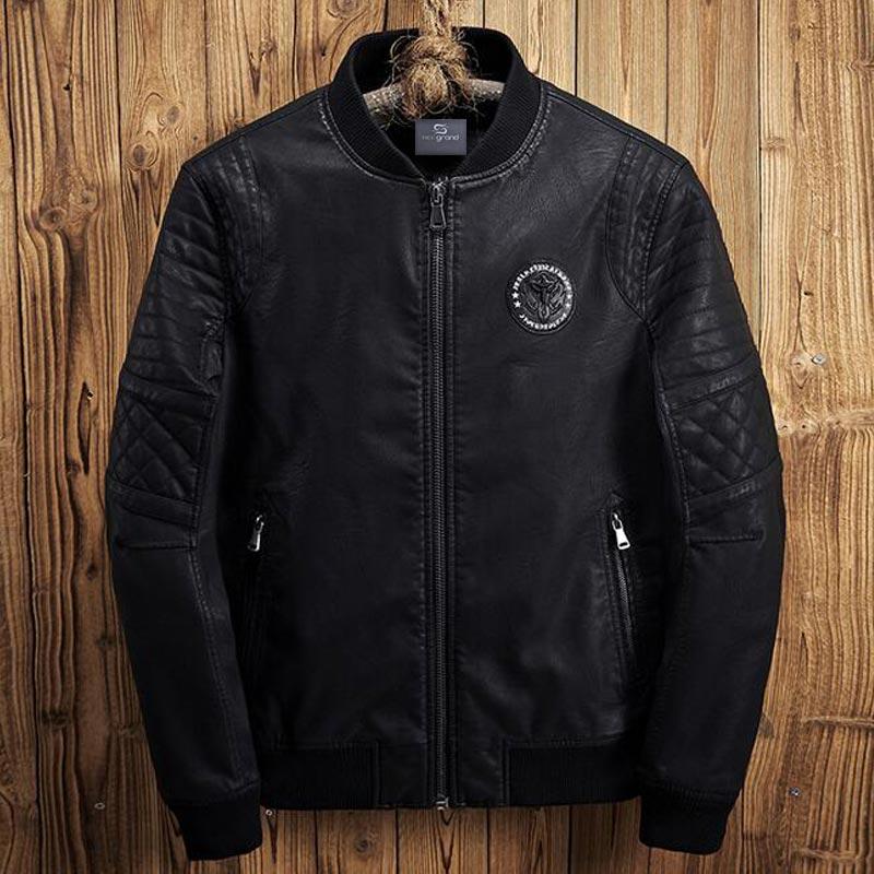 MWP449 Men winter warm pu jacket (15)