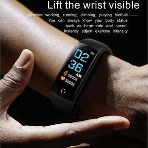 Image 3 - สมาร์ทนาฬิกาผู้ชาย 3D แบบไดนามิก UI Dial อัจฉริยะกีฬาฟิตเนสสายรัดข้อมือ montre Homme GPS กล้อง IOS Android สมาร์ทนาฬิกา