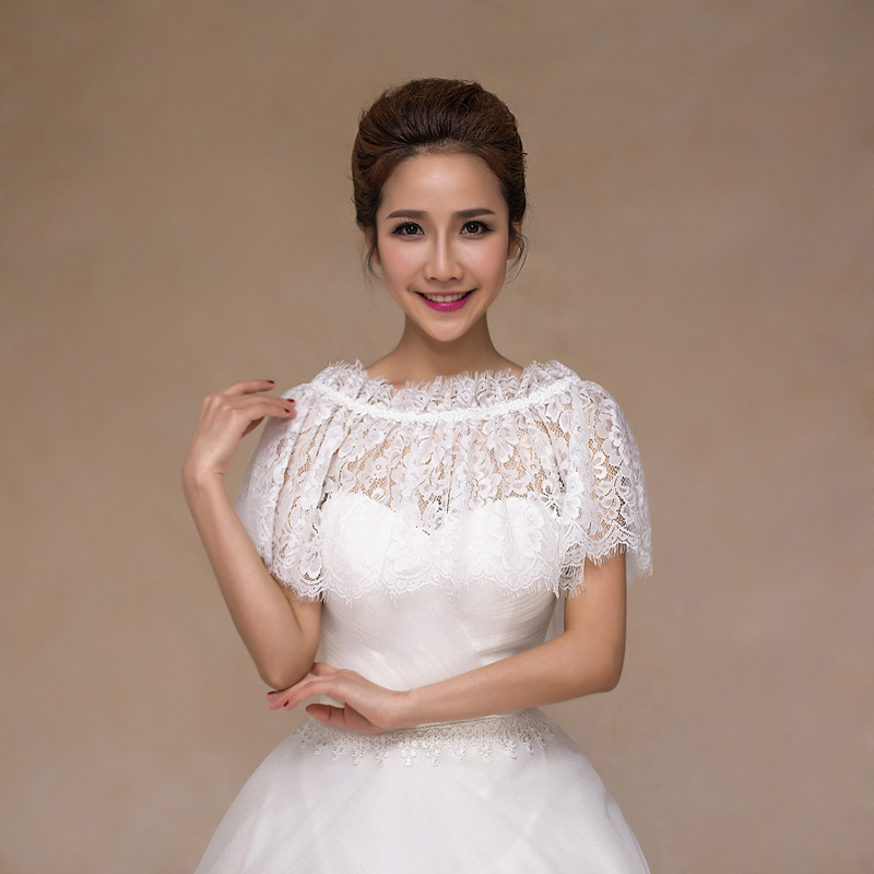 Korean Version Of Wedding Dress Shawl