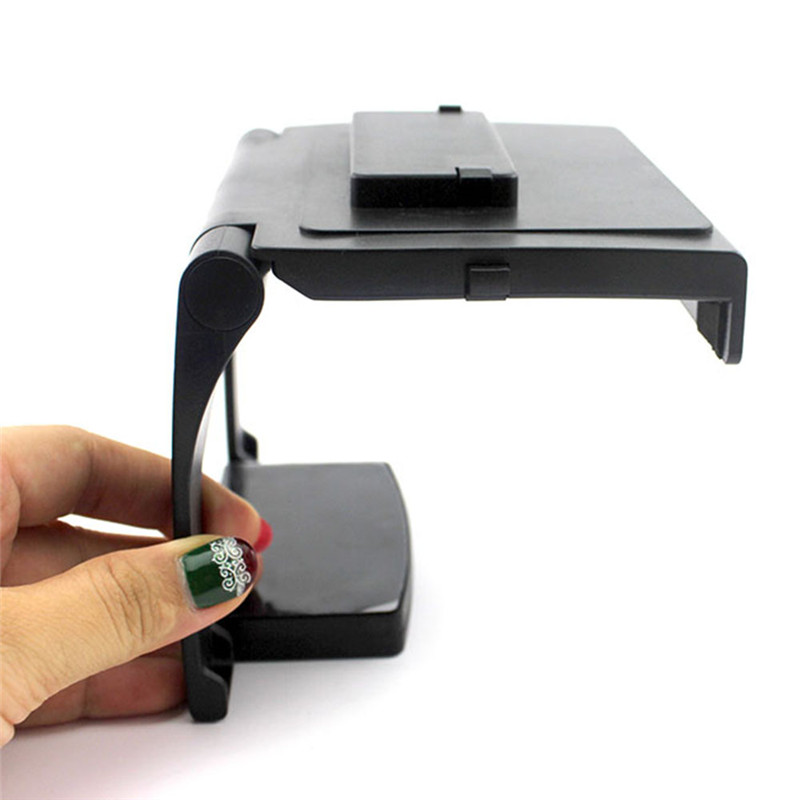 New Portable Tv Clip Clamp Mount Stand Holder For Microsoft Xbox 360 Kinect Sensor Mini Adjustable Support For Movement Sensors