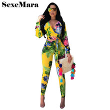 Sexy print two piece set long sleeve crop top and leggings 2017 autumn tie dye women 2 piece pants sets african outfit D43-AC22