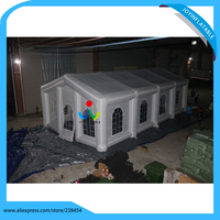 12X6M Joy Inflatable Brand White wedding inflatable tents, Inflatable event tents, China advertising tent for events