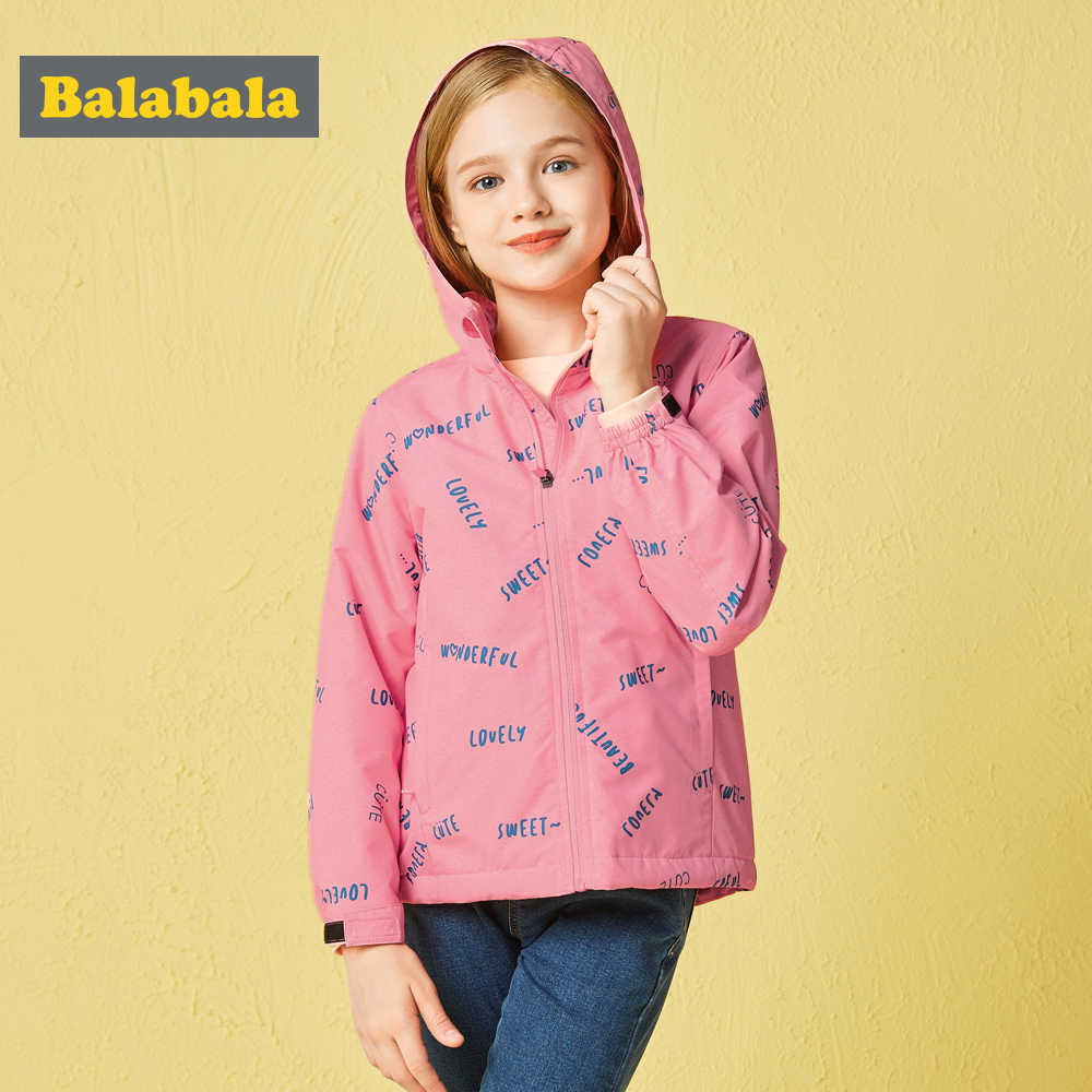 Balabala ילדים בנות מעיל סתיו חורף ילדי בנות ילדים רך ונוח מעילי ילדים פופולרי פראי צבע מעילי Fash