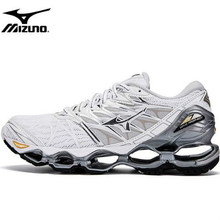 Mizuno Wave PROPHECY 7 Professional Women Shoes Running Shoes Sport Sneakers Weightlifting Shoes WHITE Stable Sports Size 36-41