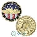 1-10 шт Новые SWCC позолоченные монеты медали армейские монеты коллекционные монеты Соединенные Штаты морские спецоперации силы вызов монеты