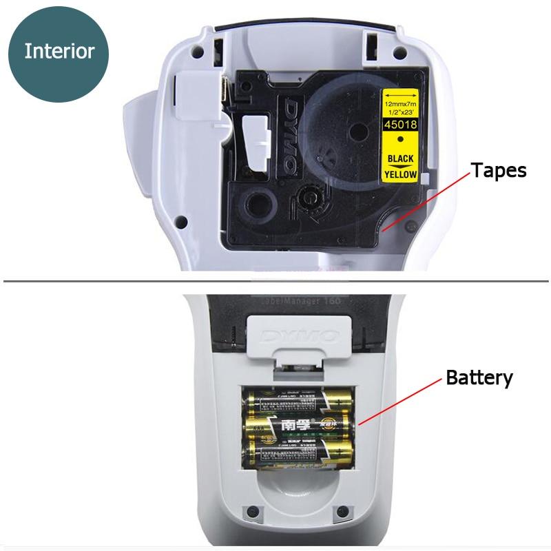 DYMO LM160 machine à étiquettes anglais portable étiquette imprimante LMR-160 autocollants imprimante d'étiquettes 45013 40913 45018 43613 45010 - 3