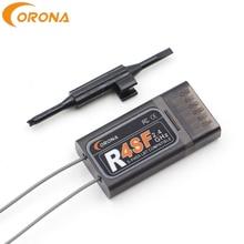 Corona récepteur télécommande 2.4G R4SF 4CH S FHSS/FHSS, compatible FUTABA S FHSS T6j T6K T8J T10J 14SG 16SZ 18MZ 4pls