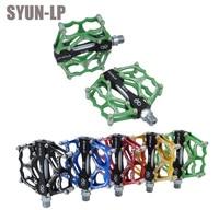 SYUN LP Mountain Bike Double Bearing Bearing Skid Ultra Light Aluminum Alloy Hollow Foot Pedal Car