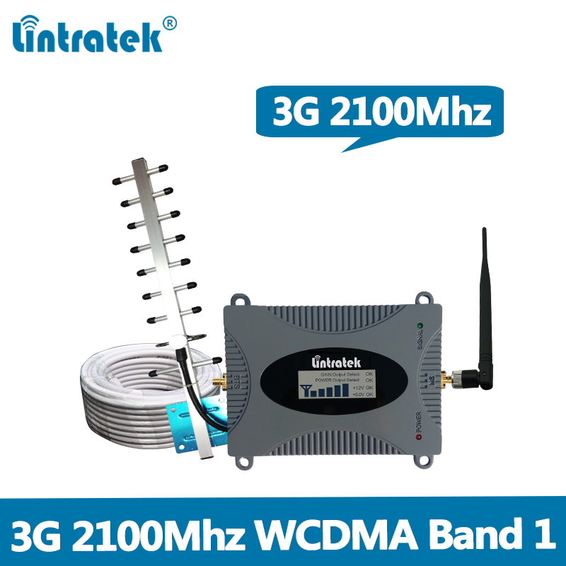 Gain 65dB Signal Repeater 3G UMTS WCDMA 2100MHz(LTE Band 1) Mobile Signal Booster full set with Yagi/Whip Antenna and 10M CableGain 65dB Signal Repeater 3G UMTS WCDMA 2100MHz(LTE Band 1) Mobile Signal Booster full set with Yagi/Whip Antenna and 10M Cable