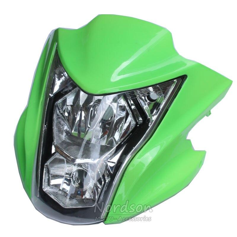 Nordson Haute Qualité Phare Pour Kawasaki ER-6N Dédié Moto Carénage Moto Head Light Lampe Cowling Adapte 2012-2015