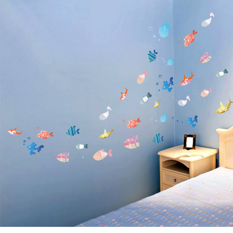 Compare Prices on Fish Wall Decor Bathroom- Online Shopping/Buy ...