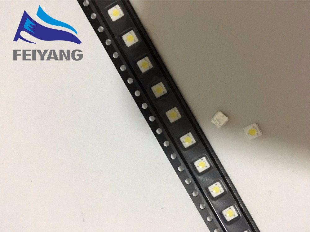 50pcs LUMENS LED Backlight 1W 3V 3535 3537 Cool white LCD Backlight for TV TV Application A127CECEBUP8 Style-3