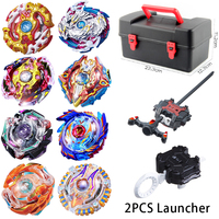 16 Styles Tomy Metal Beyblade Burst Toys Arena Sale Tray Bursting Gyroscope Containing Emitter Hobbies Spinning