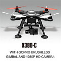 XK X380 - C RC Drones Headless Mode 2 Axis Gimbal RC Quadcopter RTF with 1080P Camera and GPS RC Simulators