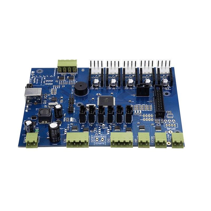 New Hot Replicator G Mighty Board with IC Atmega1280-16au/Atmega2560-16au + Cable for Makerbot 3D Printer 8 atmega1281 16au atmega1281 tqfp 64