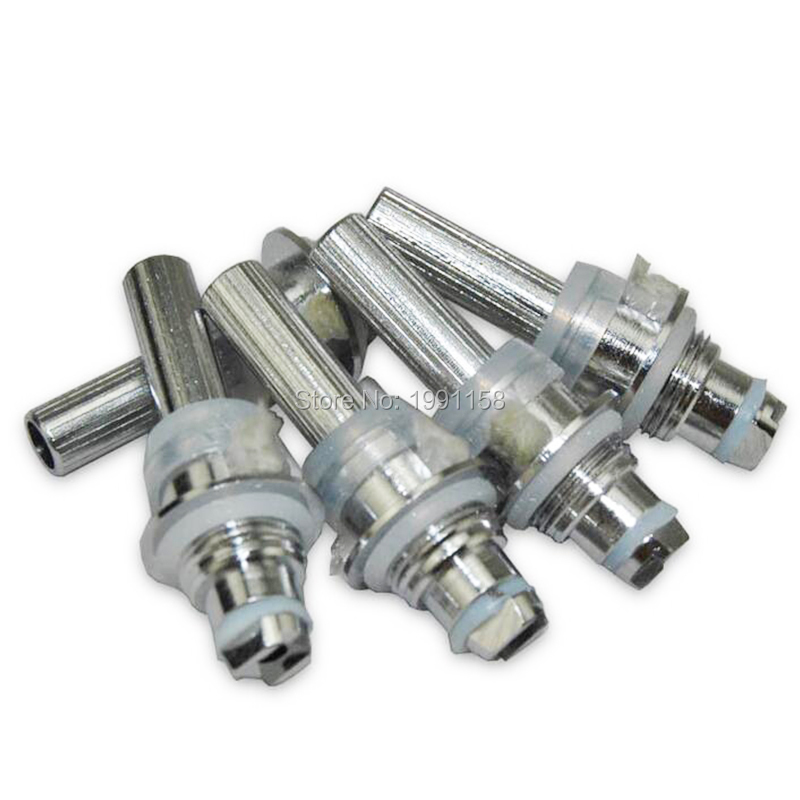 10pcs/lot Evod MT3 Atomizer Coil Replacement Coil Head For Mt3 Clearomizer Protank Atomizer H2 MT3 Vaporizer Replace Core Coils