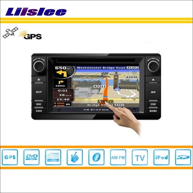 Liislee для Mitsubishi Outlander 2013 ~ 2014 dvd-плеер автомобиля GPS nav навигации Радио стерео CD IPOD BT HD Экран мультимедиа Системы