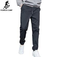 Пионерский лагерь Лето Осень повседневные брюки мужские хлопковые облегающие модные брюки Мужская брендовая одежда пять цветов AXX901001