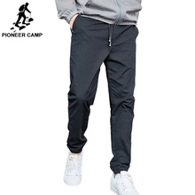 Pioneer Camp 2019 Summer Autumn Casual Pants Men Cotton Slim Fit Fashion Trousers Male Brand Clothing man five color AXX901001