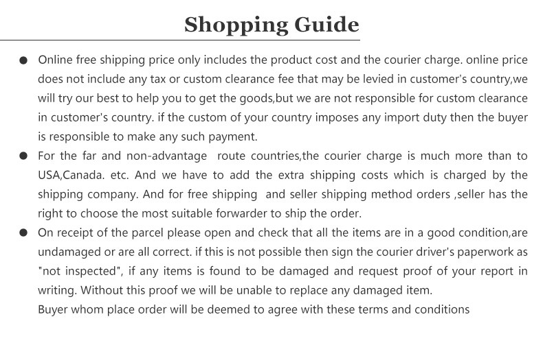 shipping guide-picture