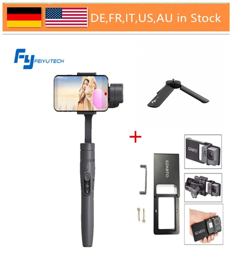 FeiyuTech Vimble 2 Gimbal, 3-Axis Extendable Smartphone Gimbal Stabilizer for iPhone X / 8 / 7 Plus / HUAWEI / Samsung Smartphon feiyutech vimble 2 smartphone gimbal 3 axis gopro gimbal 18cm extendable stabilizer for iphone x 7 plus samsung vs xiaomi gimbal
